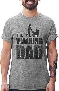 Shirtracer The Walking Dad Herren T-Shirt und Männer Tshirt
