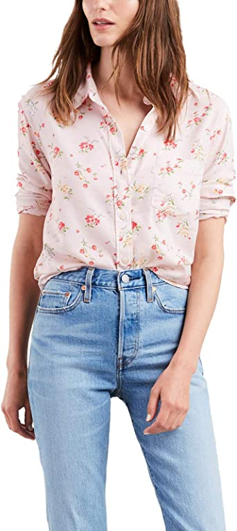 Camisa Levis Ultimate Rosa para Mujer XL Rosa: Amazon.es: Ropa