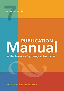 Apa Manual 7th Edition 2020