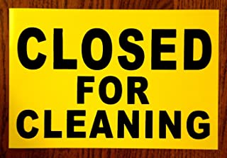 1Pc Credible Unique Closed for Cleaning Magnetic Sign Store Declare Indoor Message Outdoor Decal Bathroom Staff For Restroom Work In Progress Wet Floor Caution Do Not Enter Banner Hanging Size 8