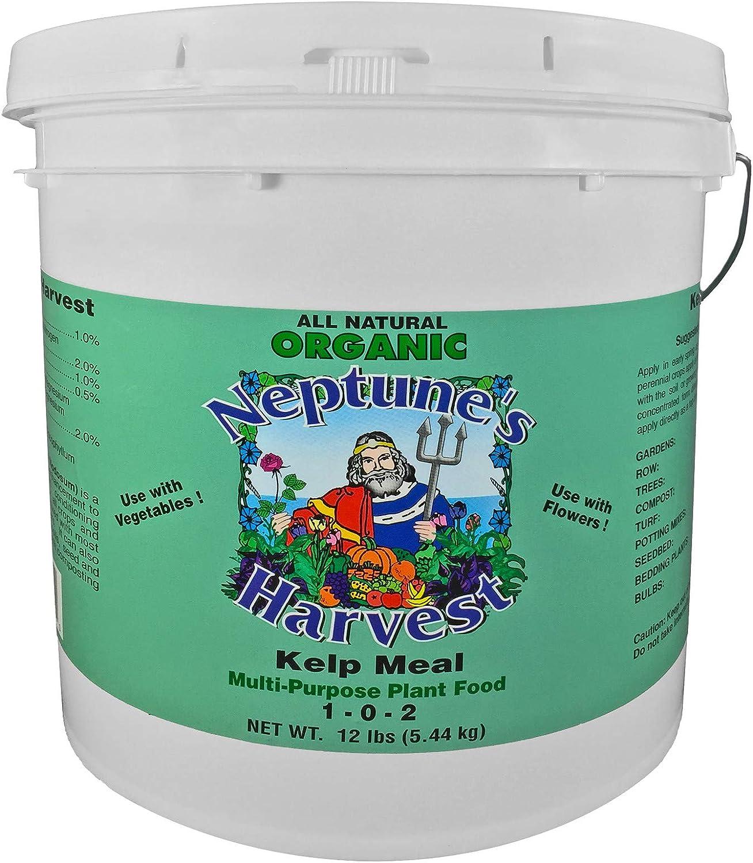 Neptune's Harvest Kelp Meal Multi-Purpose Plant half Food l Now free shipping 12 1-0-2