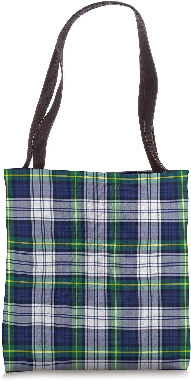 Blue Tartan Plaid Pattern Scottish Clan Scotland Gifts Tote Bag