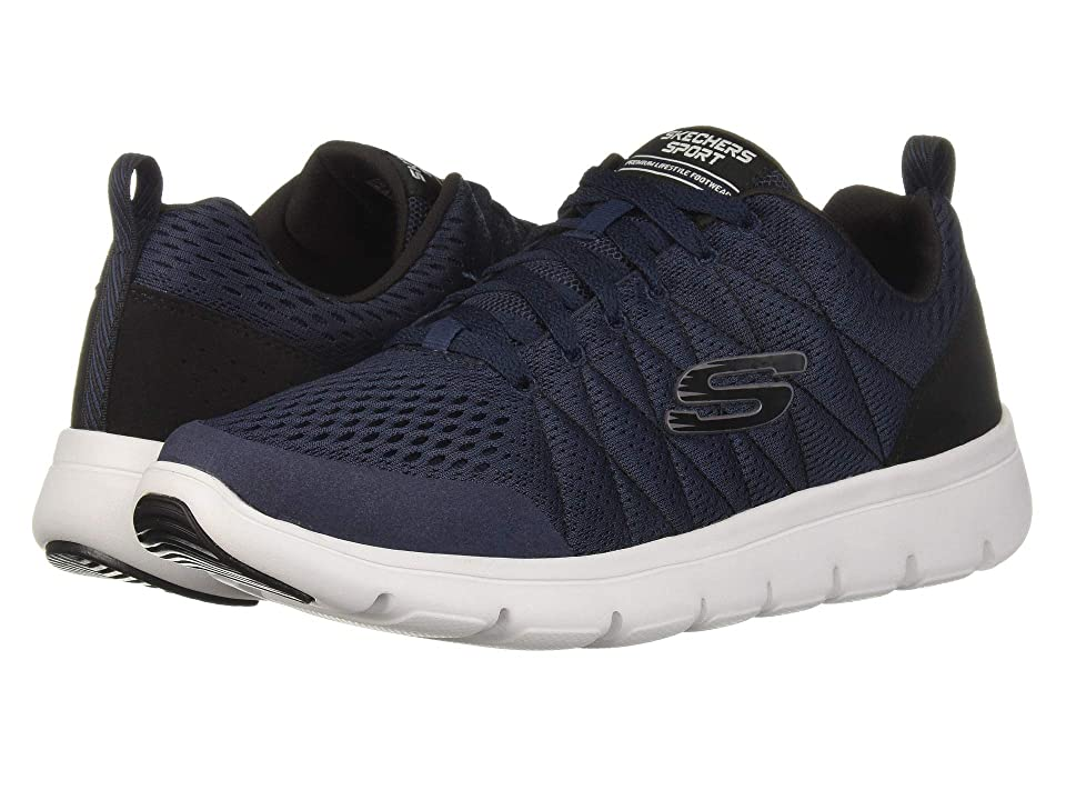 SKECHERS Marauder Mershon (Navy/Black) Men