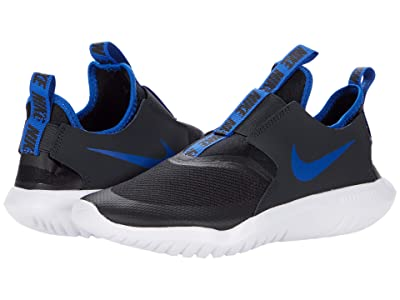 Nike Kids Flex Runner (Big Kid) (Black/Game Royal/Dark Smoke Grey/White) Kids Shoes