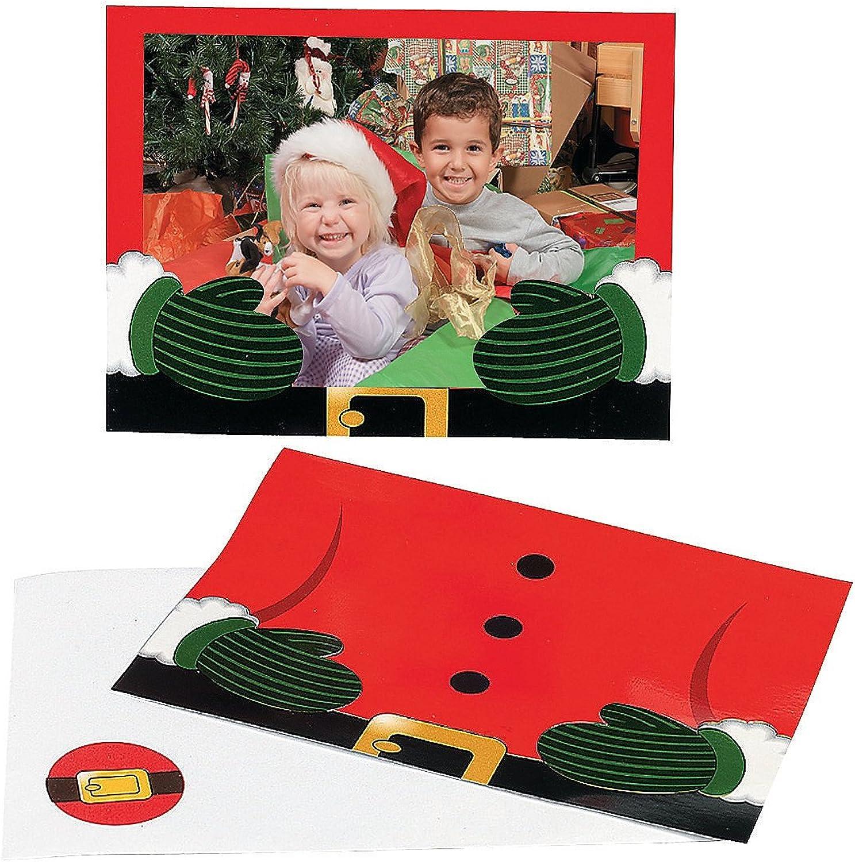 Santa Foto Halter Grußkarten (24) B017QLLANQ | Reichlich Und Und Und Pünktliche Lieferung  | Verschiedene Stile und Stile  | Elegant  7a3b5e