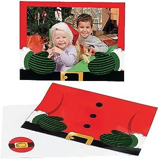 Santa Photo Holder Greeting Cards (24Pcs)