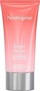 Neutrogena Bright Boost Resurfacing Micro Polish Facial Exfoliator with Glycolic and Mandelic AHAs, Gentle Skin Resurfacing Face Cleanser for Bright & Smooth Skin, 2.6 fl. oz