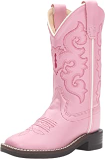 Old West Girls' Western Boot Square Toe - Vb9120