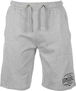 Lonsdale - Pantalones cortos de boxeo para hombre,