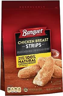 BANQUET Chicken Breast Strips Made With 100% Natural Chicken, 24 oz.