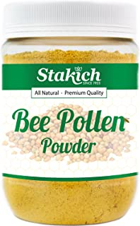 Stakich Bee Pollen Powder - Pure, All Natural, 10 Pounds