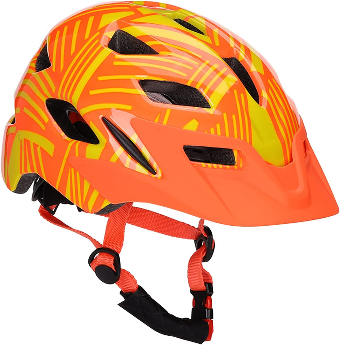 latest M-Y-L-Z Kids Bike Credence Helmet Lightweight He Skating Cycling Scooter