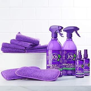 Joy Miracle Clean Fast & Powerful 20-Piece Disinfect & Clean Super Set (Orange)