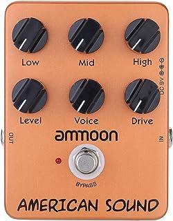 ammoon ap-13americano sonido Simulador de Amplificador Pedal Guitarra Efectos True Bypass