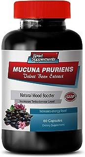Brain Memory Supplements Best - MUCUNA PRURIENS Velvet Beans Extract - mucuna pruriens Extract - 1 Bottle 60 Capsules
