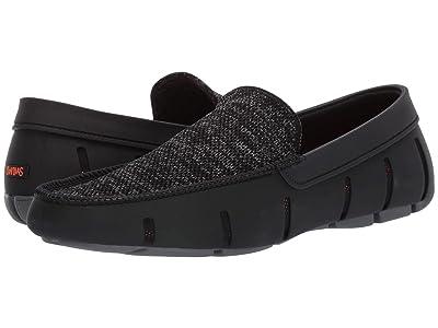 SWIMS Classic Venetian Loafer (Black/Gray) Men