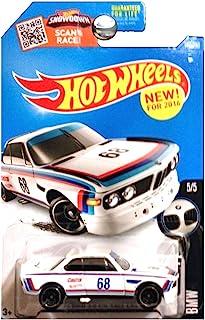 Hot Wheels, 2016 BMW, '73 BMW 3.0 CSL Race Car [White] #190/250 by Hot Wheels