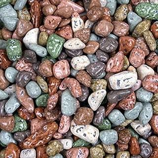 Chocolate Rocks - Mixed River Stones 1LB Bag