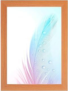 DR24 fotolijst 42x59 (Kersenboom) op maat gemaakt, 35 mm brede MDF-houten frame inclusief anti-reflecterende kunstglas rui...
