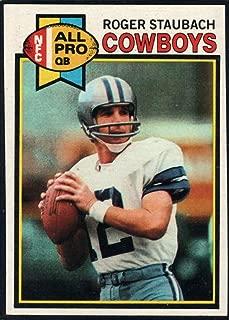 Football NFL 1979 Topps #400 Roger Staubach Cowboys