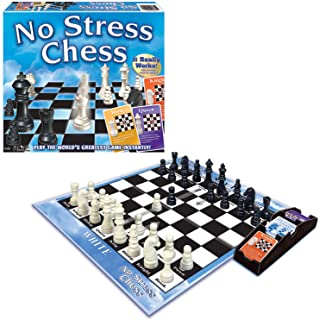 Winning Moves 1091 No Stress Chess Game Blue