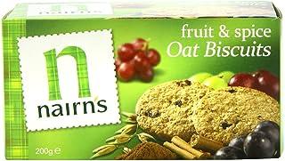 ネアンズ オーツビスケット フルーツandスパイス 200g Nairns Oat Biscuits Fruit and Spice 200g 海外直送品