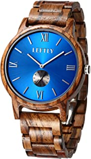 waterproof wooden watch