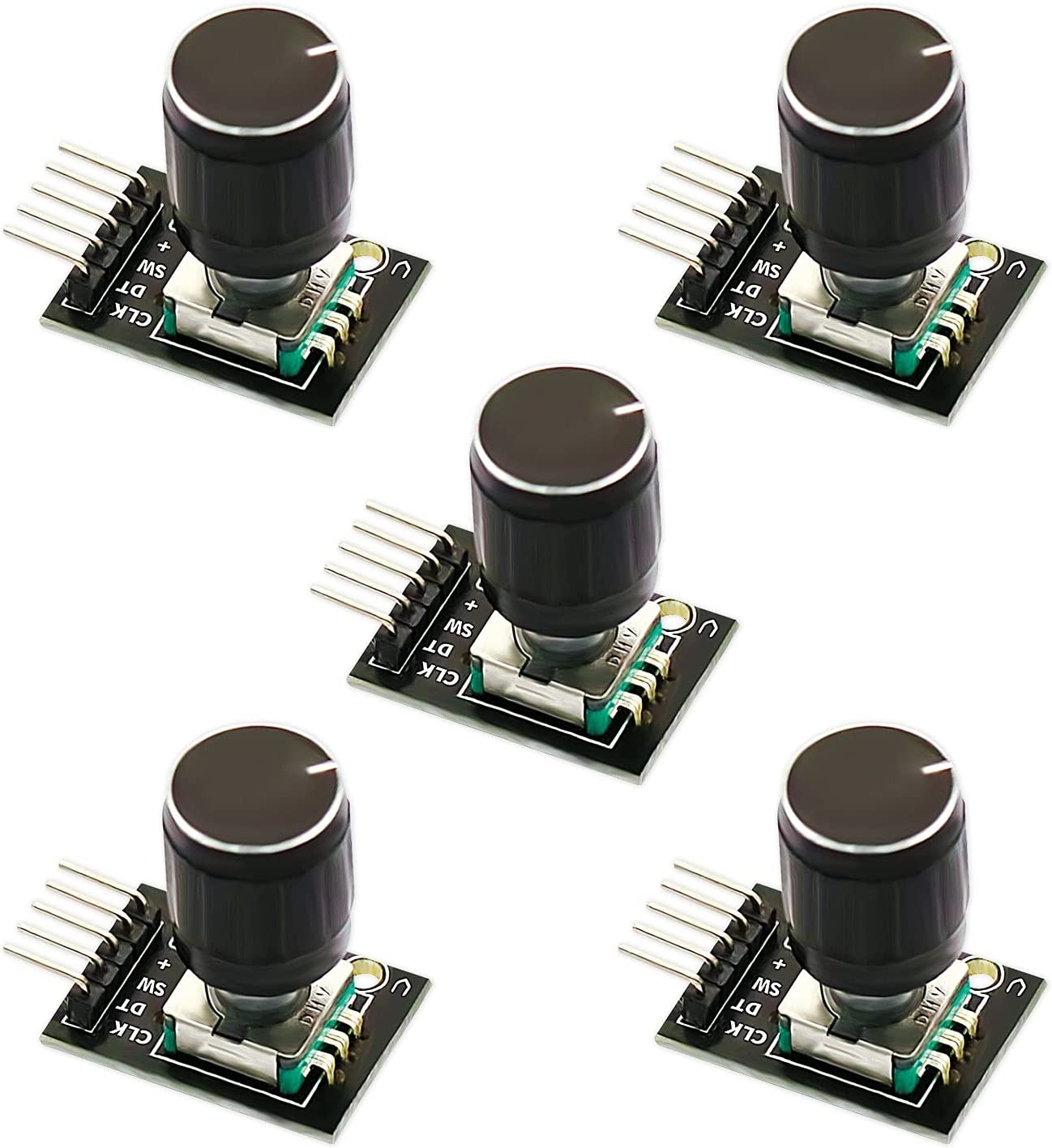 CenryKay 5-Pack Choice KY-040 Rotary Enco SEAL limited product Digital Encoder Module