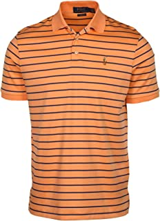 Men's Classic Fit Striped Soft-Touch Polo Shirt
