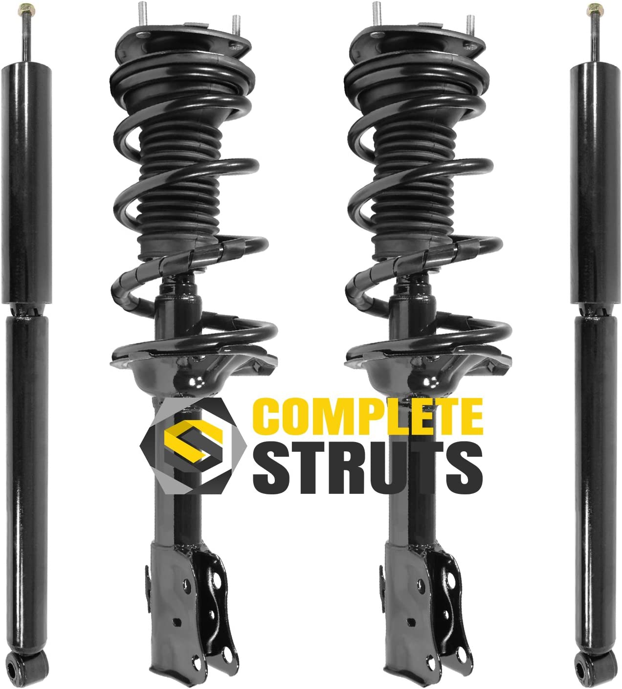 Front Quick Complete Outlet ☆ Free Shipping Struts Assembly Absorbers Max 73% OFF Rep Shocks Rear