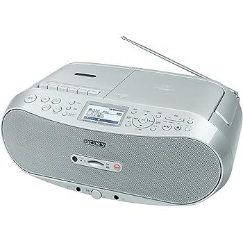 ソニー CDラジカセ レコーダー FM/AM/ワイドFM/SDカード対応 録音可能 CFD-RS501
