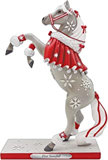 Enesco Trail of Painted Ponies First Snowfall Figurine, 10.25 Inch, Multicolor