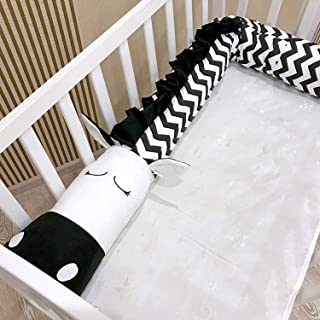 Bed Circumference Black and White Zebra Child Bed Safety Crash Barrier Cotton Bed Bumper