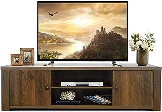 Lwieui Mesas para TV El Centro de Entretenimiento del gabinete TV Puede alojar hasta 65 Pulgadas de TV con gabinetes de Al...