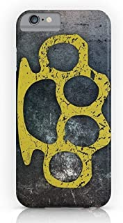 Customize Phone Protective Cover Brass Knuckles Hard PC Back Skin Shell Cover Phone Case Cover Phone Case for iPhone 8 Plus