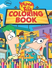 Phineas and Ferb Coloring Book: Great 42 Illustrations for Kids