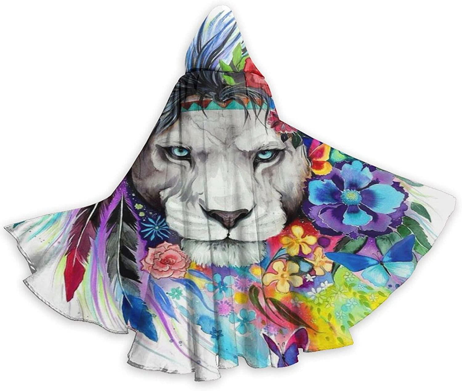 Halloween Cloak Cape Colorful Lion King Max 90% OFF Max 48% OFF Flowers