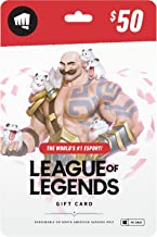 League of Legends $50 Gift Card - NA Server Only [Online Game Code]
