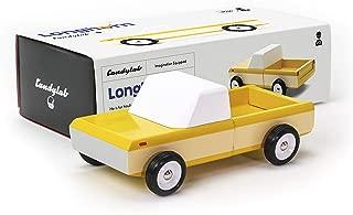 Candylab Toys -Longhorn Orange Wooden Car - Solid Beech Wood …