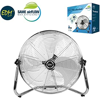Ventilador Industrial 45W 30 Centímetros 3 Velocidades EDM 33934 ...