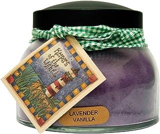 A Cheerful Giver Lavender Vanilla Mama Jar Candle, 22-Ounce