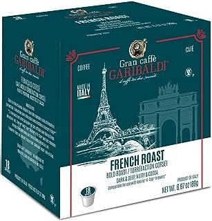Gran Caffè Garibaldi Single Serve Cups for Keurig K-Cup Brewers (French Roast, 18 Count)