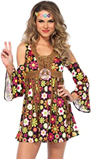 Leg Avenue Womens 85610 Starflower Hippie Costume Adult-Sized Costume