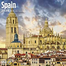 2020 Spain Calendars Wall by Bright Day Calendars 16 Month Wall Calendar 12 x 12 inches 2020 European Collection (Spain 2020)
