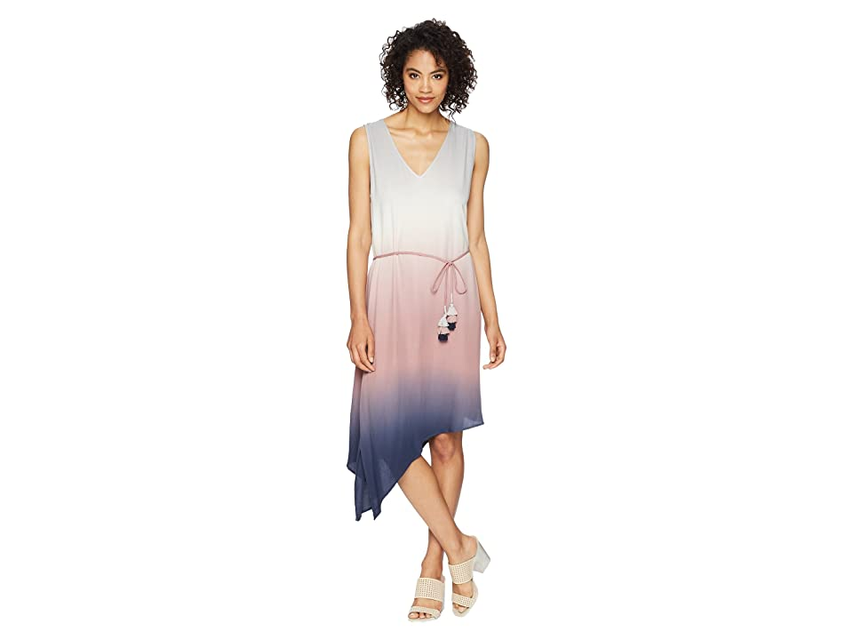Young Fabulous & Broke Alcove Dress (Light Grey Ombre) Women