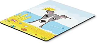Caroline's Treasures Italian Greyhound Summer Beach Mouse Pad, Hot Pad or Trivet, Multicolor (BB2104MP)