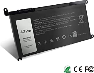11.4V 42Wh WDXOR WDX0R 3CRH3 Battery Replacement for Dell Inspiron 15-5000 15-7000 13-7000 13-5000 5565 5567 5568 5578 5368 5378 7368 7378 7569 P58F,fit with P/N 3CRH3 T2JX4 CYMGM FC92N