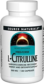 Source Naturals L-Citrulline 500mg - Nitric Oxcide Booster - 120 Capsules