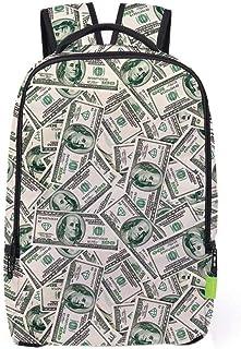 XHHWZB Travel Student Bag Fashion Dollar 3D Backpack