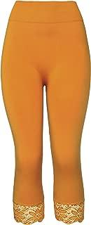 Best gold capri leggings Reviews